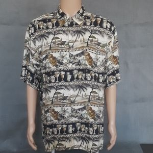 CAMPIA: Mens Hawaiian Shirt